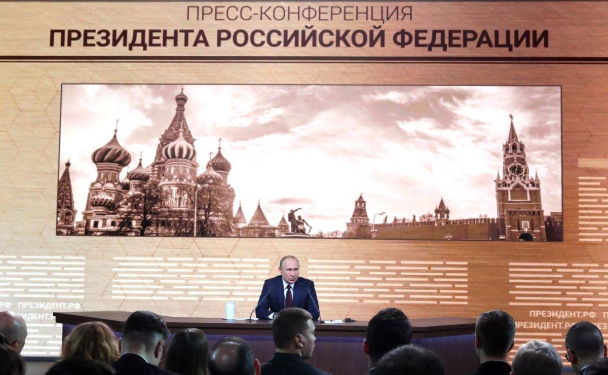 Pressekonferenz im O-Ton: Putin im Streitgespräch mit ukrainischem Journalisten