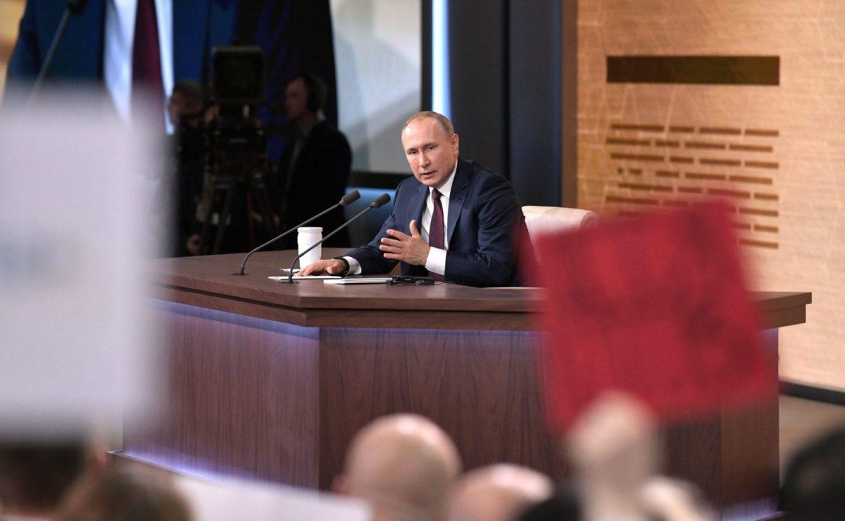 Jahrespressekonferenz: Putin im O-Ton über die Sanktionen
