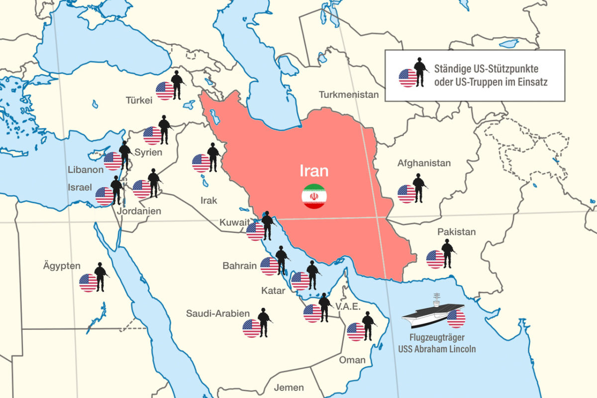 Der vergessene Konflikt: Zuspitzung im Streit mit dem Iran erhöht Kriegsgefahr am Persischen Golf
