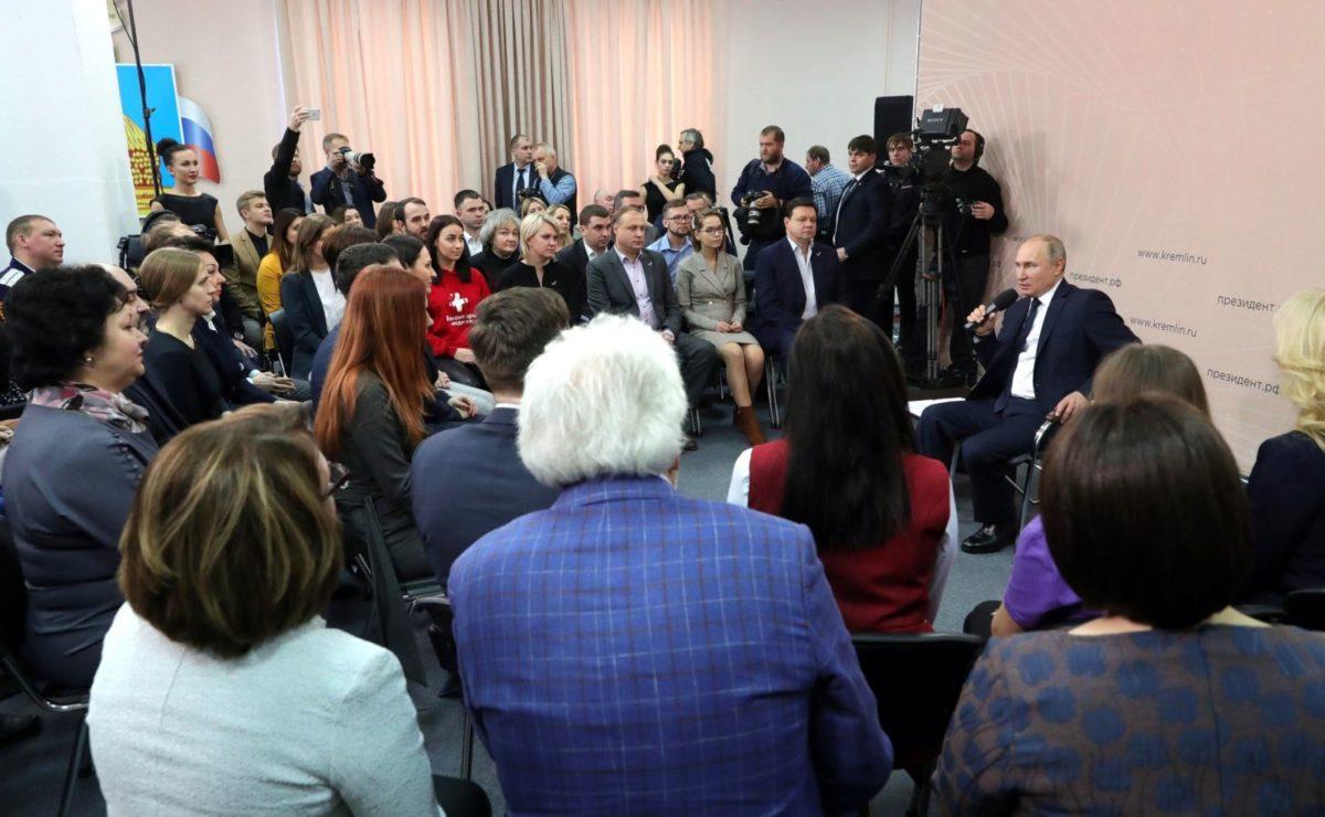 Warum Putin meint, dass Russland keine parlamentarische Republik sein sollte