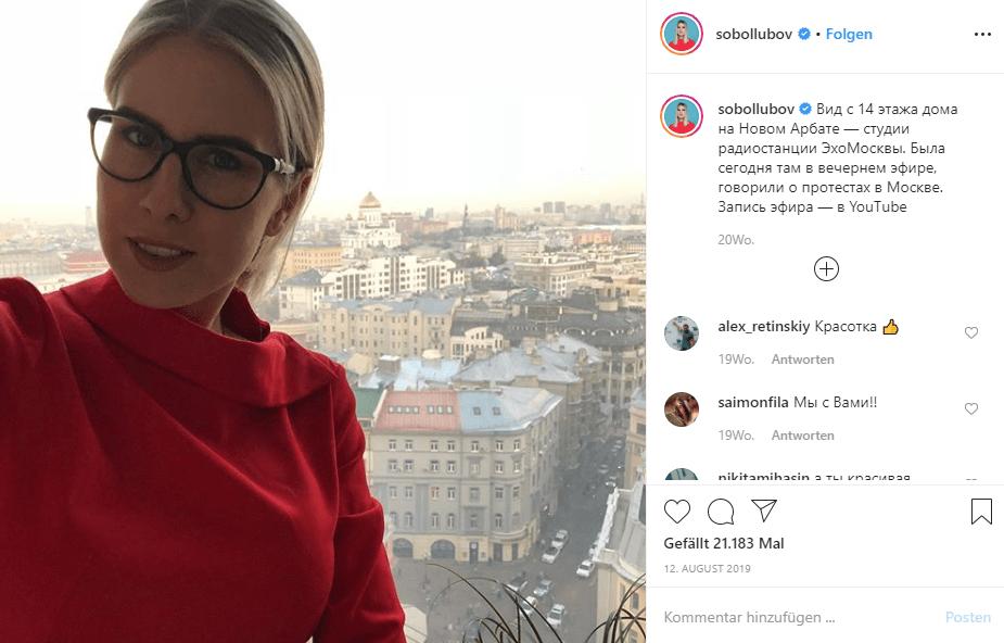 Angebliche Oppositionsführerin Ljubow Sobol – Was der Spiegel alles nicht mitteilt