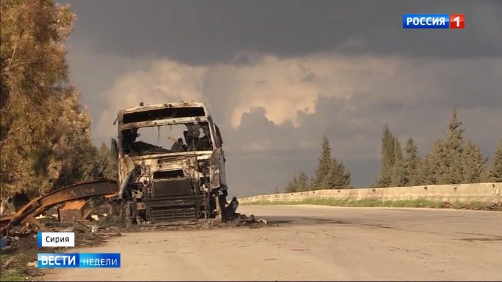 Korrespondentenbericht: Das russische Fernsehen über die Eskalation in Syrien