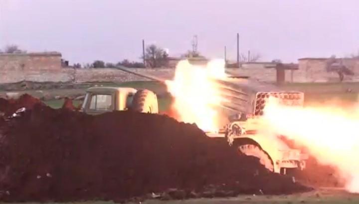 Wie das russische Fernsehen über die heutige Eskalation in Syrien berichtet