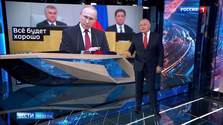 Putin kann nach 2024 weiterhin Präsident bleiben – Wie berichtet des russische Fernsehen?