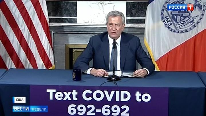 Das russische Fernsehen über die politische Woche in den USA: Coronakrise oder Coronadepression?