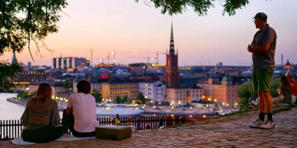 Keine zwangsweise Selbstisolierung: Korrespondentenbericht aus Schweden