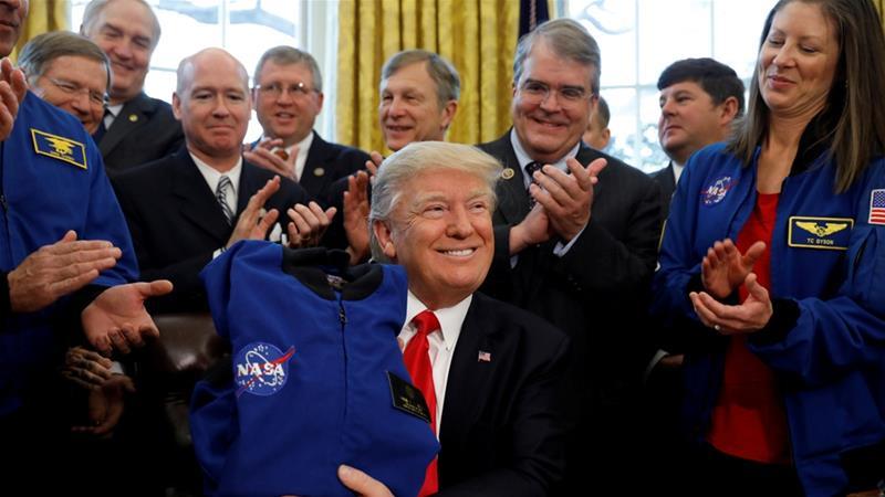 Die Welt ist nicht genug: US-Dekret erlaubt es US-Firmen exklusiv, den Mond auszubeuten