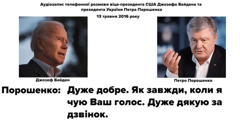 Politisches Erdbeben in Kiew: Telefonmitschnitte von Joe Biden und Poroschenko zeigen Sumpf aus Korruption