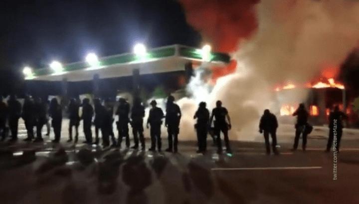 Wie nach dem Tod von George Floyd: Weiße, nicht Schwarze, haben die Unruhen in Atlanta provoziert