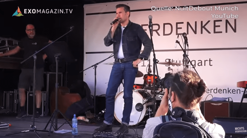 Stuttgart: Versuchter Sprengstoffanschlag auf Ken Jebsen bei Corona-Demonstration