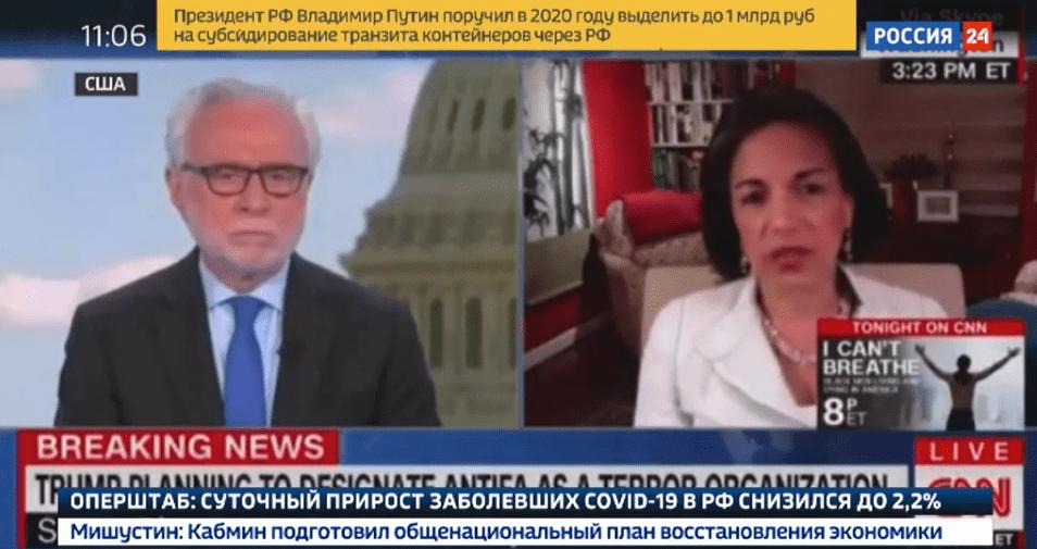 Demokraten und CNN über Rassenunruhen in den USA: Russland ist schuld