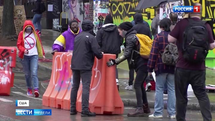 """Reportage aus dem besetzten Teil Seattles: """"Der Westen der USA ist wieder wild"""""""