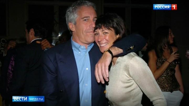 """Das russische Fernsehen über die Verhaftung von Maxwell: """"Der Fall Epstein riecht nach Politik"""""""