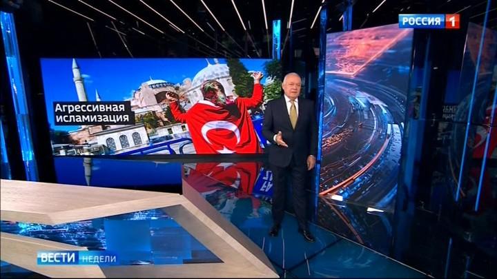 Die Hagia Sophia wird eine Moschee: Wie in Russland auf den türkischen Schritt reagiert wird