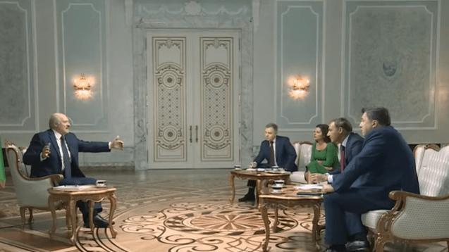 Zusammenfassung von Lukaschenkos zweistündigem Interview im russischen Fernsehen
