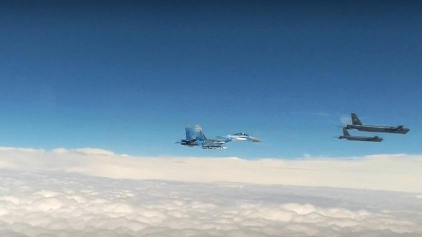 Aber Russland ist aggressiv: Mehr als 50 Vorfälle mit US-Militärflugzeugen in 7 Tagen an Russlands Grenzen