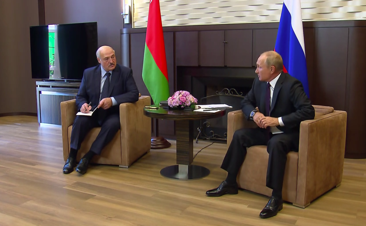 Weißrussland: Putin und Lukaschenko treffen sich, Opposition will weißrussische Wirtschaft runieren