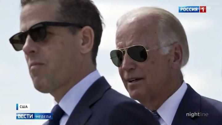 """Das russische Fernsehen über die neuesten Enthüllungen über Biden: """"Sex, Drogen und der Sohn"""""""