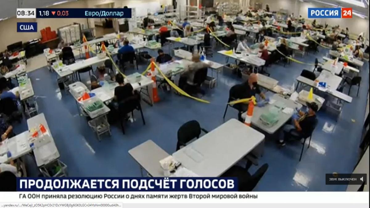US-Wahl: Beispiele für Wahlbetrug im russischen Fernsehen, US-Post findet noch 150.000 Stimmzettel