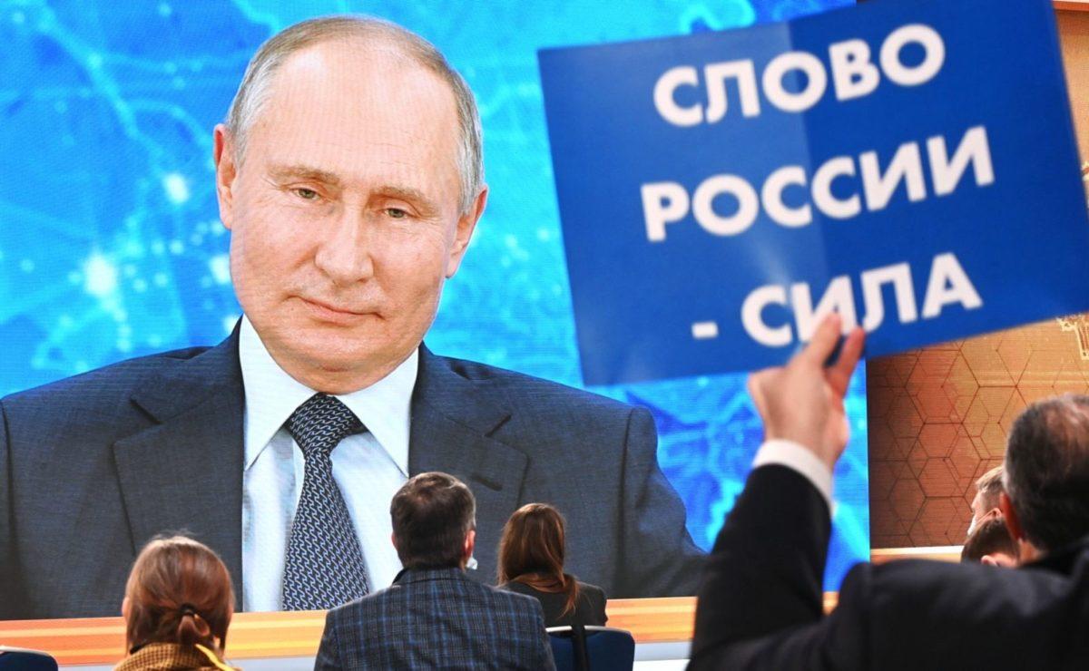 """Jahrespressekonferenz: Putin über Spiegel-""""Enthüllungen"""" zur angeblichen Vergiftung Navalnys"""