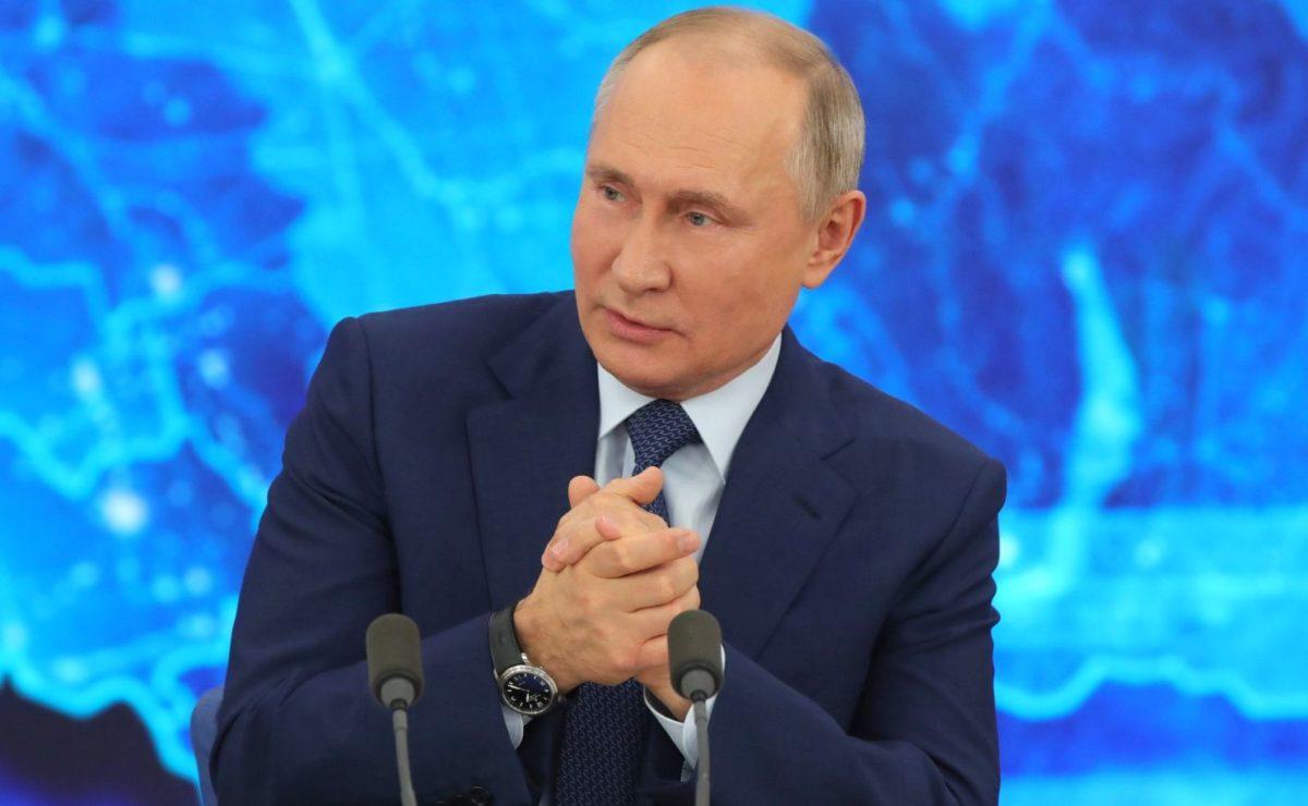 Jahrespressekonferenz: Putins Antwort auf die Frage der BBC, ob Russland eine weiße Weste hat