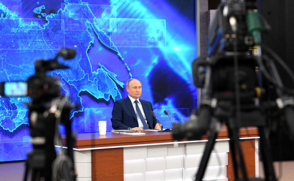 Jahrespressekonferenz: Putins im O-Ton über das atomare Wettrüsten und Russlands neue Waffen