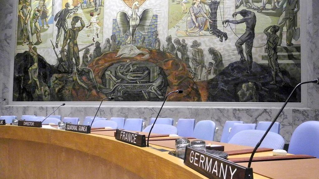 Deutschlands Hoffnungen auf einen ständigen Sitz im UNO-Sicherheitsrat sind zerstoben