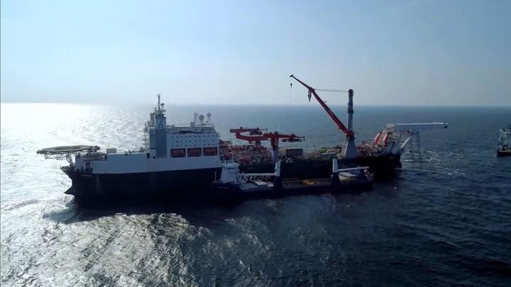 Seit Freitag wird der Bau von Nord Stream 2 fortgesetzt