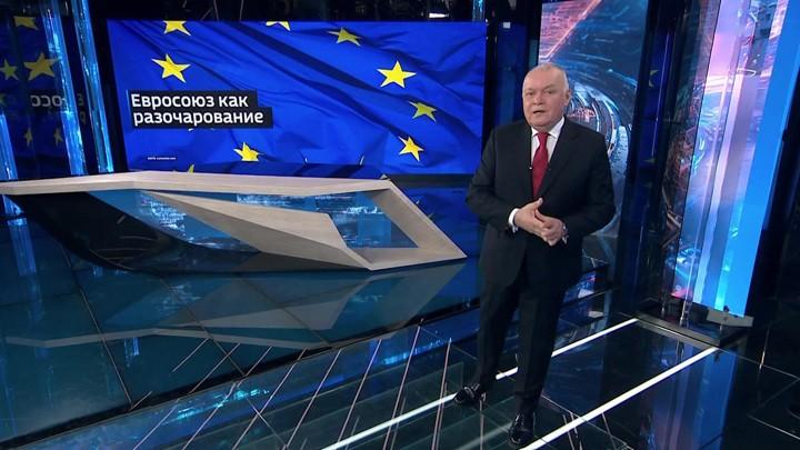 Das russische Fernsehen über den Zustand der EU