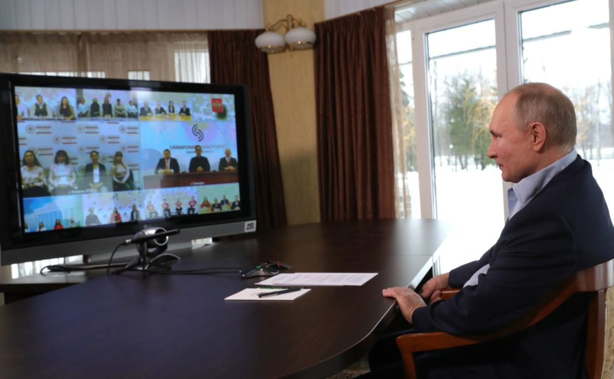 Putin antwortet auf Frage zum Navalny-Film