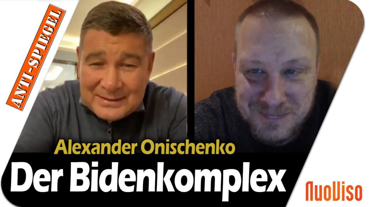 Neues Interview mit Onischenko über die Korruption von Joe Biden