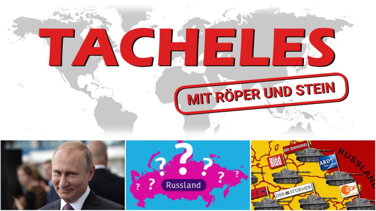 """Tacheles-Extra: """"Kritische Fragen zu Russland"""" ist online"""