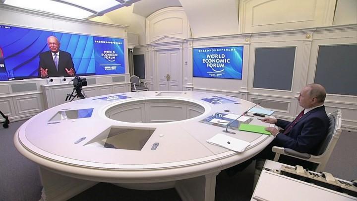 """""""Great Reset"""": Wie in Russland über Putins Rede beim Weltwirtschaftsforum berichtet wurde"""