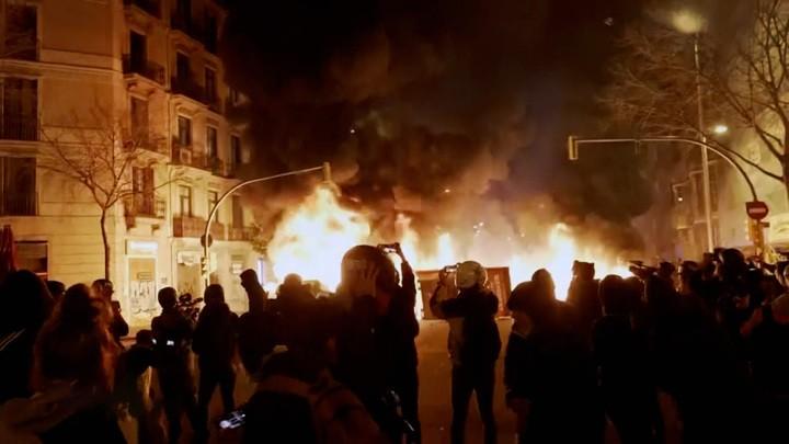 """Proteste in Spanien: """"Es gibt keine politischen Gefangenen, es gibt nur gefangene Politiker"""""""