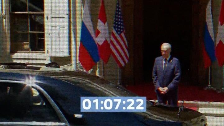 Das russische Fernsehen über die Unterschiede von Putin und Biden