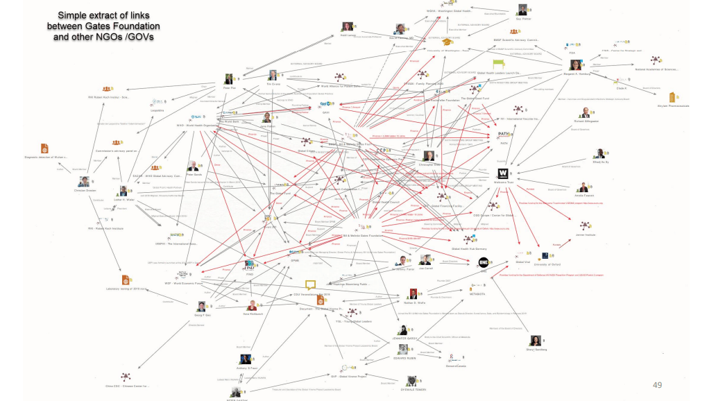 Die Netzwerke, die die Pandemie erschaffen haben